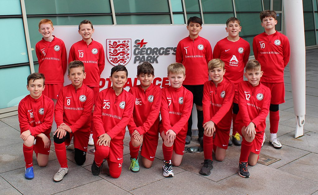 Robins get the Three Lions Experience at ST Georges Park
